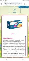 Prabhat dairy Type: Box Processed cheese, Packaging Type: 1 Kg Block, For Restaurant
