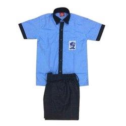 Half Sleeve Sublimation Kids School Uniform