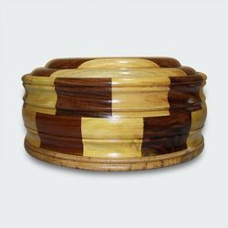 Handcrafted Wooden Chapati Box