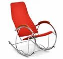 Nilkamal Modern Dylan Rocking Chair, For Home, Back Style: Cushion
