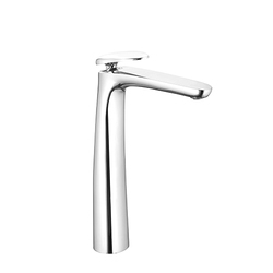 Sink Cock Extended Swinging Spout With Wall Flange