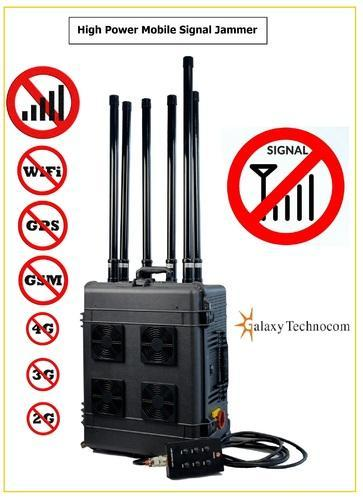 All signal jammer - mobile signal jammer device