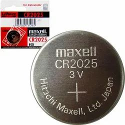 Maxell CR 2025 Lithium Coin Cell Battery