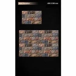 Ceramic Matt Elevation Digital Wall Tile, Thickness: 5-10 mm, Size: 450x300 mm