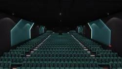 Rockfon  cinema black Ceiling tiles