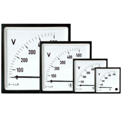 Analog AC/DC Ammeter Panel Mounted(96X96)