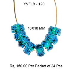 Lampwork Fancy Glass Beads - YVFLB-120