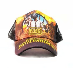 PUBG Printed Netted Mesh Caps and Hats