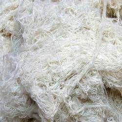 Raw White Cotton Yarn Waste