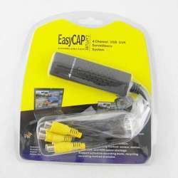 USB 20 Easy Cap DVR Video Capture Adapter