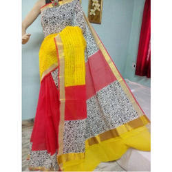 Indian Traditional Saree with Blouse Piece