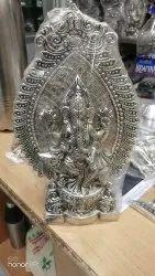 Silver White Metal Ganesh
