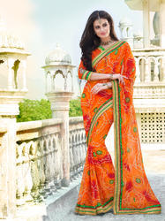fb996d775 Jaipuri Saree - Rajasthani Sarees Latest Price