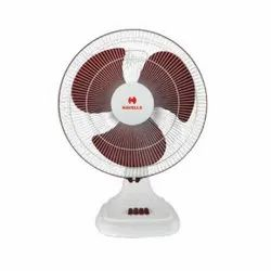Accelero White and Maroon Table Fan