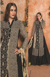 Black Embroidered Ladies Suits