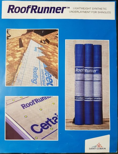 Saint Gobain Certainteed Synthetic Underlayment Amp Terrieal