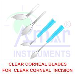 Ophthalmic Clear Corneal Blade