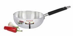 Mirror Polish Aluminium Deep Fry Pan, For For Deep Frying