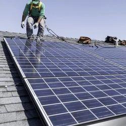 Terrace Solar Panel Installation
