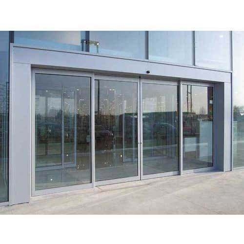 Automatic Sliding Glass Doors Sensor Sliding Glass Doors Architect Interior Design Town Planner From Chennai