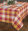 Checked Design Table Cloth