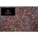 Glossy Polished Diamond Brown Granite Tile, For Outdoor