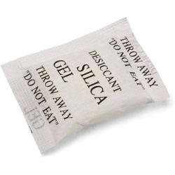 White Silica Gel Pouches