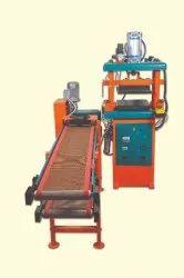 JJ Foodmatic Pressing Machine With Conveyor, Capacity: 600-800 Pcs/Hr