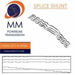 Polished Mild Steel Splice or Dead-End Shunt, For Industrial