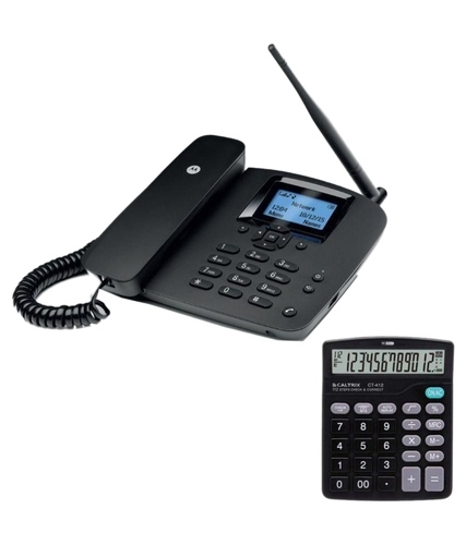 Motorola Fw200l Fixed Wireless Gsm Landline Phone Black