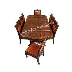 Teak Wooden Dining Table Set