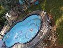 Ceramic Residential Swimming Pool, 2.5-4 Feet