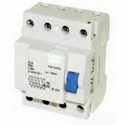 Three Phase 83a Residual Current Circuit Breaker, 50hz, 240-415v