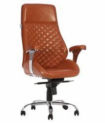 Designer Brown Galleta Executive High Back Chair