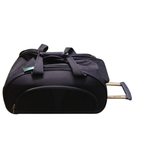 Polo Shine Two Tone Nylon Fabric Plain Trolley Duffle Bags 635849df1fda6