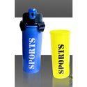 Plastic Sports Shaker with Lock