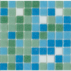 Building Glass Mosaic Tiles