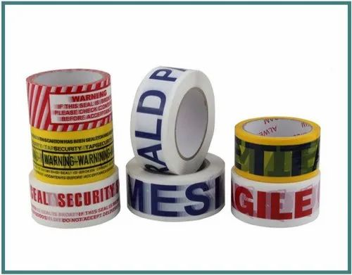 2 inch BOPP Adhesive Printed Tapes, for Packaging, Packaging Type: Box
