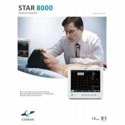 SPO2 LED Comen Star 8000 Patient Monitor, Screen Size: 12.11, Upper Arm