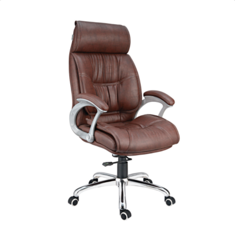 D-105 Brown High Back Director Chair