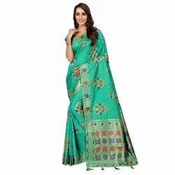 1498 Elegant Handloom Silk Saree