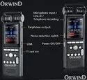 Pocket Size Digital Audio Recorder With Continous 22 Hours & Long Lasting Ulttra Clear Recording