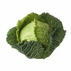 A Grade Green Cabbage, Pesticide Free (for Raw Products)