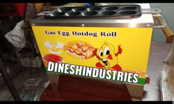 Gas Egg Roll sausage Machine ( 10 tubes )