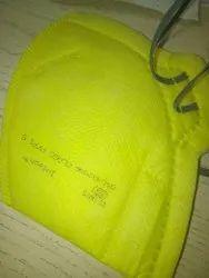 Flat N Fold Type Yellow FFP1 Mask
