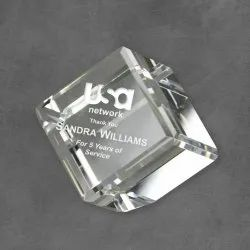 Customize Crystal Paper Weight