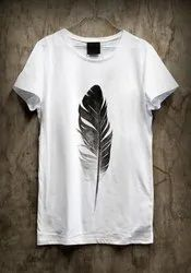 Girls White T- Shirt