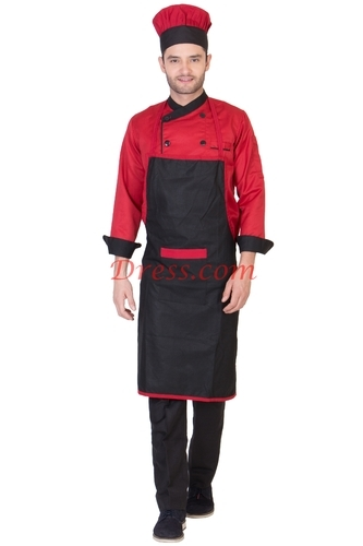 Kitchen Apron with Cap
