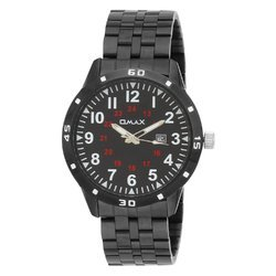 OMAX Analog Black Dial Men''s Watch - TS524