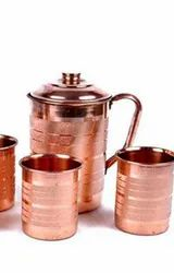 Regular Copper Color Copper Full Size 6. no. Jug, Size: 6no. Jug, Packaging Type: White Cartoon Box Indivisual